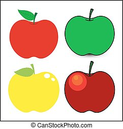 Set of Apples