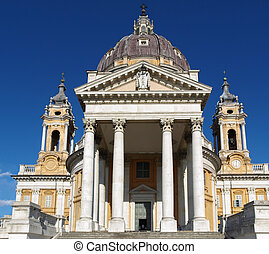 Basilica di Superga, Turin - The baroque Basilica di Superga...