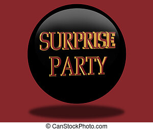 Birthday Surprise party Invitation - Card for surprise...