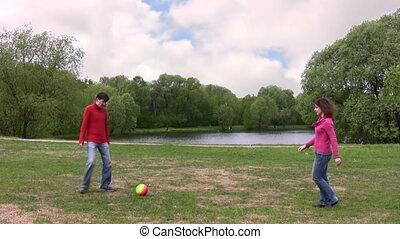 couple play ball