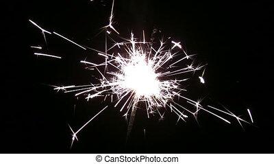 one sparkler