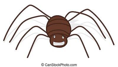 Creepy Spider Character