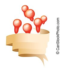 Balloons with Ribbon Banner