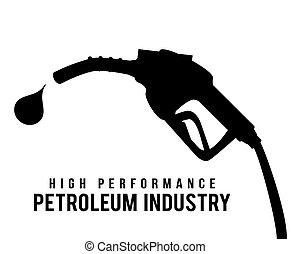gas industry design - gas industry graphic design , vector...