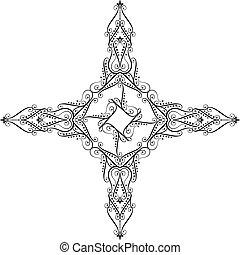 Christian Cross Design