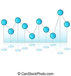 Pinhead Line Chart