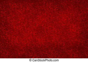 Red background texture. Small highlighted veining on a red...