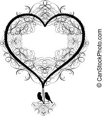 Antique ornaments Vector of hot air - Is a EPS 10...