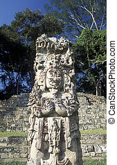 LATIN AMERICA HONDURAS COPAN - The Ruins of Copan in...