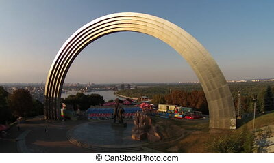 Friendship of Nations Arch, Ukraine - Friendship of Nations...