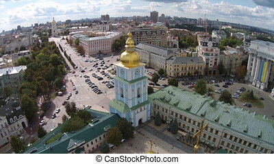 St Michaels Monastery, Ukraine - St Michaels Golden-Domed...
