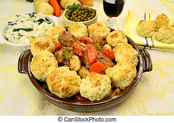 Chicken And Dumplings - Delicious chicken and dumpling...