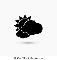 Vector black web icon on white background Eps10