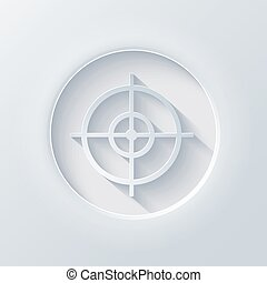 Vector light circle icon. Eps10 - Vector light circle icon....