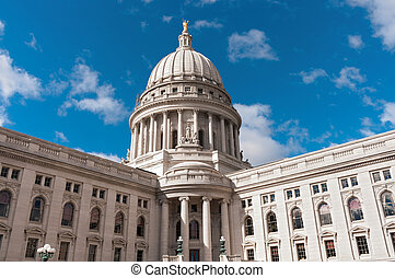 Wisconsin State Capitol Exterior