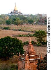 Pagodas in Bagan,Myanmar.