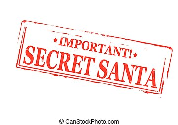 Clip Art Secret Santa Clip Art secret santa clip art and stock illustrations 220 rubber stamps with text inside