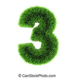 3d Grass number 3