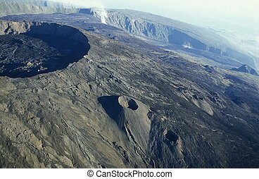 AFRICA FRANCE LA REUNION - The Landscape allrond the Volcano...