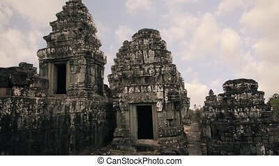 historic temple in cambodia - ancient temple, angkor wat,...