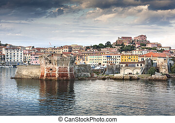 Elba - The famous port of Elba island