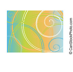 background - abstract spiral background. Vector