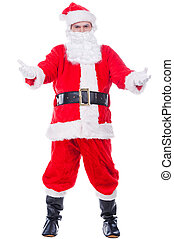 Come to Santa Full length of Traditional Santa Claus...