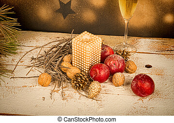Chistmas arrangement - Christmas arrangement , a holiday...
