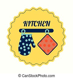 kitchen design - kitchen graphic design , vector...