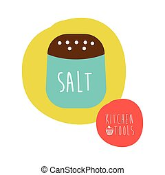 salt design - salt graphic design , vector illustration