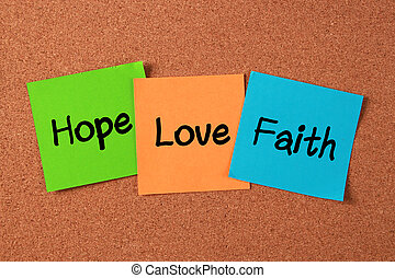 Hope, Love and Faith