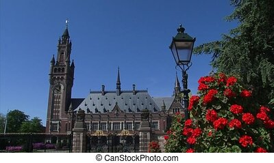 Peace Palace Vredespaleis seat of international law - swift...