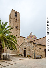 San Paolo church in Olbia - Sardinia,Italy