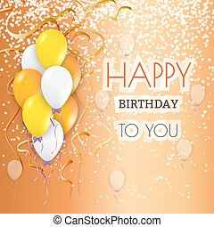 happy birthday background - happy birthday card with...