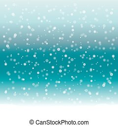 Abstract winter background with snow.