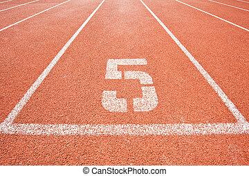 Lane five