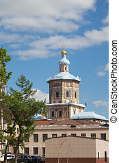 Peter and Paul Cathedral in Kazan, the Republic of...