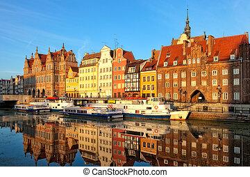 miasto,  Gdańsk, stary