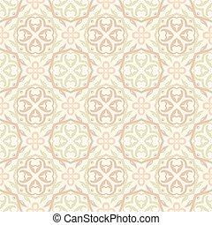 Beige wallpaper pattern