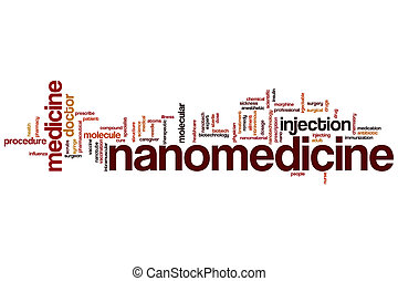 Nanomedicine word cloud