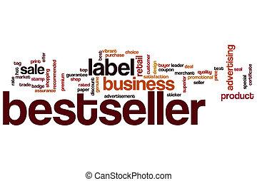 Bestseller word cloud concept