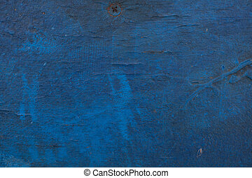 Old painted surface - Old dilapidated painted surface. Art...