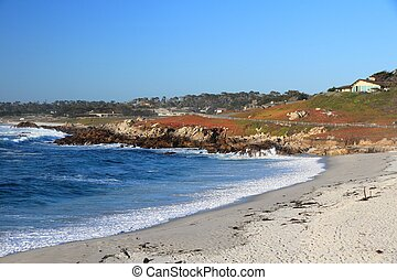 California beach - California, United States - Pescadero...