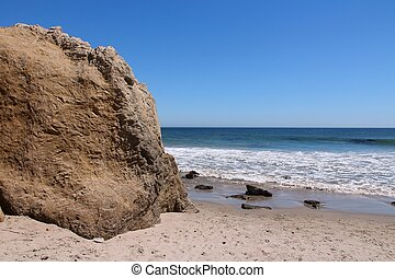 California beach - California, United States - Pacific coast...