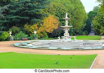 Madrid Sabatini Gardens