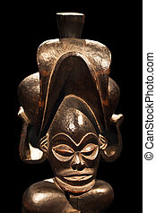 African mask (Central African collection)
