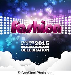 New year celebration fashion