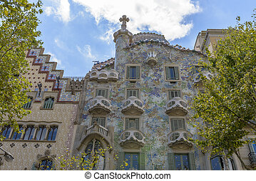 Casa Batllo, Eixample District, Barcelona, Spain - Barcelona...