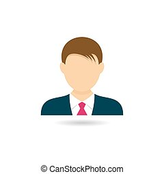 Man icon - Icon of man for web design vector illustration