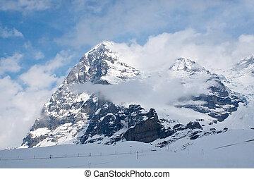 Eiger North Face (Jungfrau region, Switzerland)